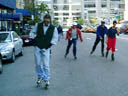 pic - skaters on 59th Street